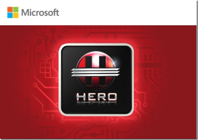 Microsoft Hero Mar 2013